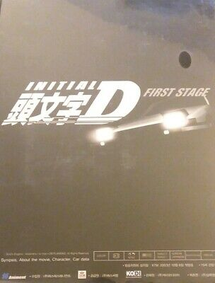 Initial D First Stage Tokyopop Anime DVD set Volumes 1 2 3 4 5 6 7 SEALED* fr/sh