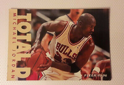 Fleer 1995-96 - #200 Michael Jordan - NBA - Total D - Chicago bulls - RARE
