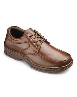 Cushion Walk Mens Shoes Wide Fit UK Size 11 - Brown