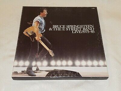 BRUCE SPRINGSTEEN - LIVE 1975-85 - 5 LP Record Boxset with Booklet - C5X 40558