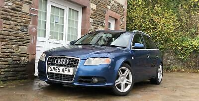Audi A4 Avant 2.0TDI 2006MY S Line estate long mot