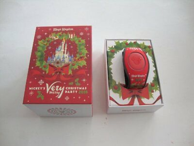 Disney Parks 2018 Mickey's Very Merry Christmas Party Magic Band MVMCP - NEW