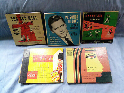 Lot of 13 Records (45 RPM) from 1940s and 1950s