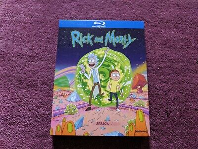Rick and Morty: The Complete First Season (Blu-ray Disc, 2014, Closed-Captioned)