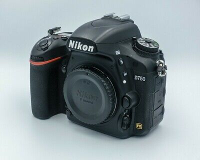 USED - Great Condition Nikon D750 24.3MP DSLR Camera - Black (Body Only)