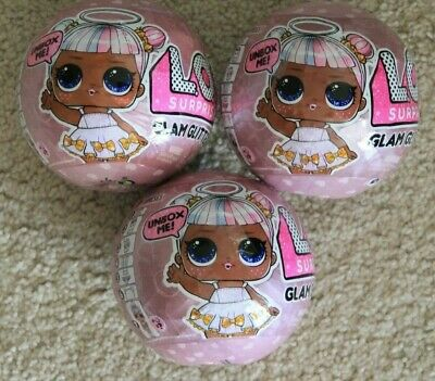 Mga Lol Surprise Glam Glitter Brand New Sealed Lot Of 3