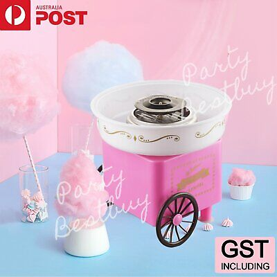 Vintage Electirc Fairy Cotton Candy Maker Floss Machine Home Sugar Kids Party AU