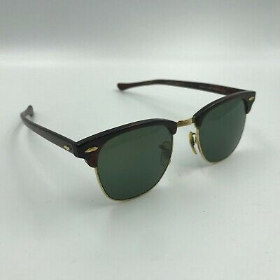 Vintage Ray Ban Bausch And Lomb Clubmaster Sunglasses