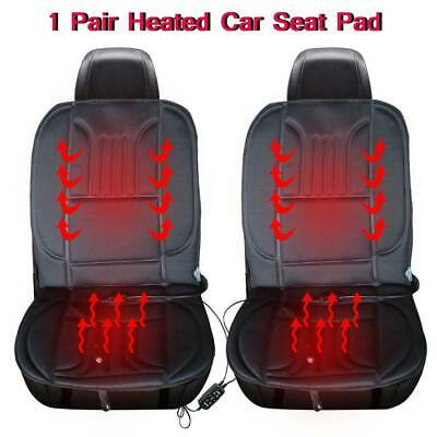 Universal 12V Heated Car Seat Pad Heating Cushion Heater Adjustable Temperature
