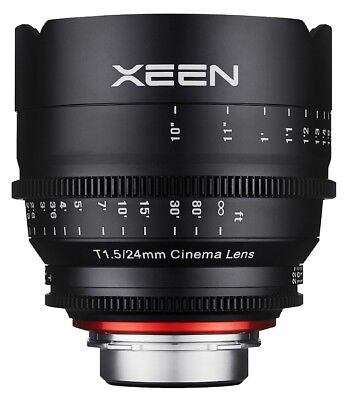 Samyang Xeen 24mm T1.5 Professional Cine Lens - Canon Fit