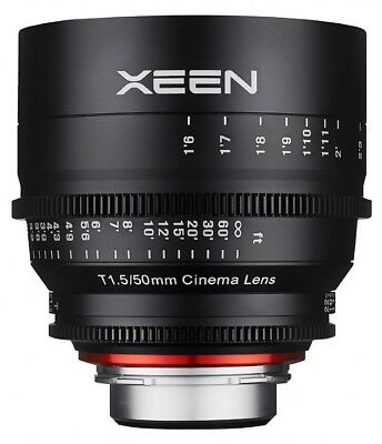 Samyang Xeen 50mm T1.5 Professional Cine Lens - Canon Fit
