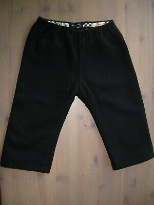Baby Boy Burberry back trousers Wool Winter 18 months