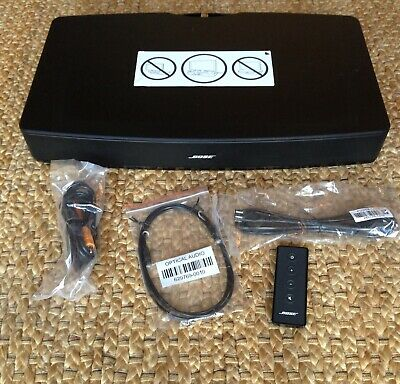Bose Solo TV Sound Bar Speaker System - Black