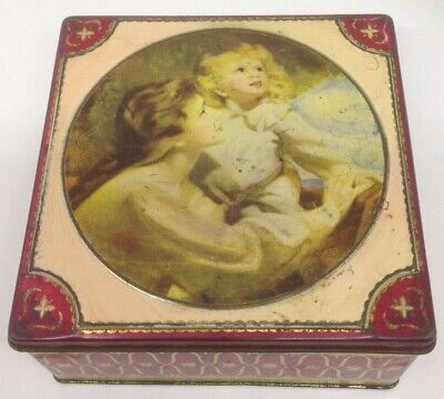 Vintage Thorne's The World's Premier Toffee Square Hinged Tin
