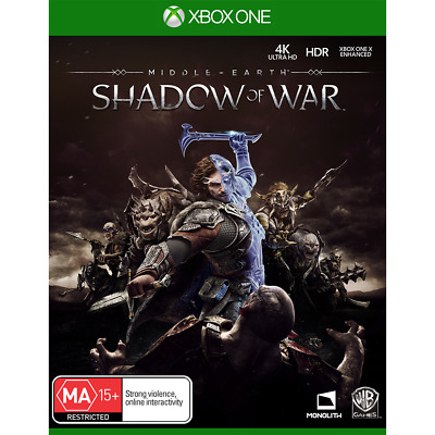 Middle-Earth: Shadow of War Xbox One XB1 Australian PAL Version Preowned