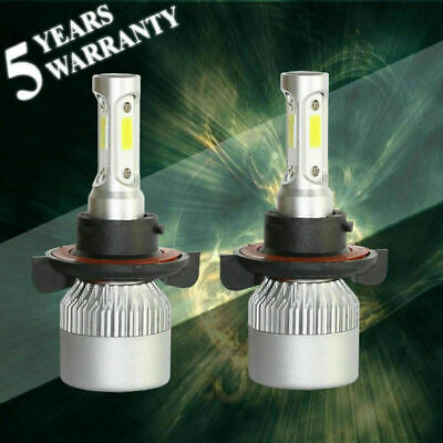Syneticusa H13 9008 Led White Headlight Bulb Kit High Low