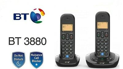 BT 3880 Cordless Phone with Nuisance Call Blocking and Answering Machine - TWIN