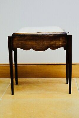 Victorian Wooden Piano Stool
