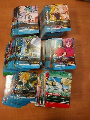 DRAGON BALL SUPER CARD GAME 500 CARDS NO REPEAT (ic jcc gt data heroes trading)