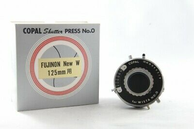 Near Mint Copal No.0 Shutter w/ Box from Japan *894984