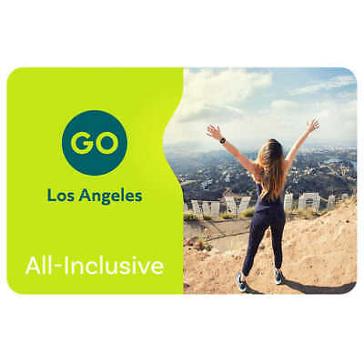 Four (4) Adult 4-Day Go Los Angeles All-Inclusive ePass with Universal Studios