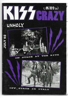 KISS CRAZY UK Fanzine Magazine Issue 14