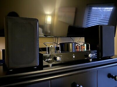 Fatman iTube Carbon MKII Integrated Tube Valve Amplifier w/ Speakers & Bluetooth