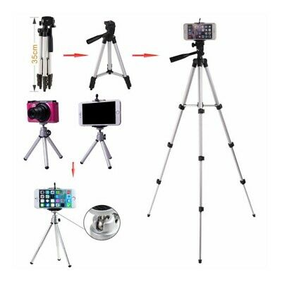 Stretchable Camera Tripod Stand Mount Holder for iPhone Samsung Mobile Phone Bag