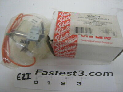"""Robertshaw 1830-708 Pilot Electrode Assembly, NG / LP, 24"""" Lead Wire"""