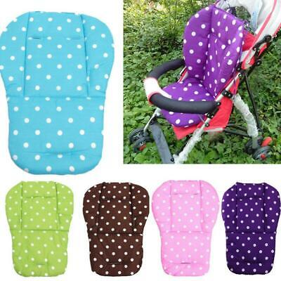 Baby Stroller Seat Cushion High Chair Pushchair Car Mat Pad Cover Soft Mattress