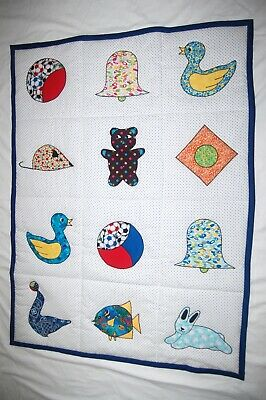 Beautiful Baby BOY Blanket with 12 Pictures