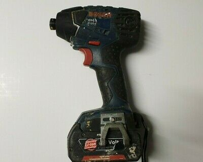 Bosch GDR18V-LI 18v Li-ion Impact Driver Unit with 3.0Ah Battery Included Only