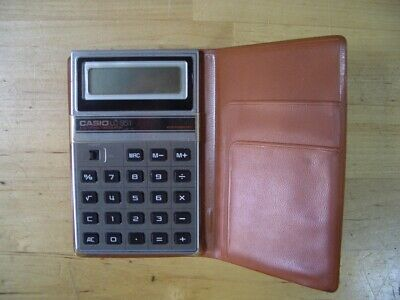 Calculadora Casio Lc-581 Calculator Vintage Rare