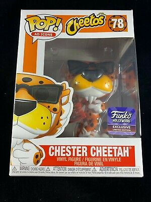 Funko POP 78 Chester Cheetah Sunglass Hollywood Opening Exclusive In Protector