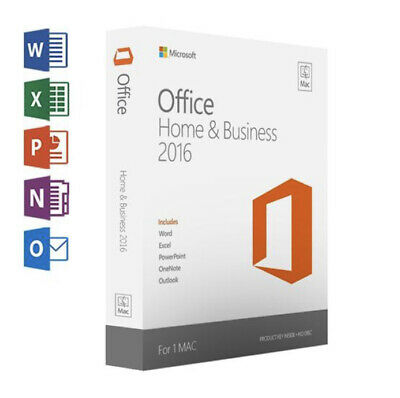 Microsoft Office 2016 For Mac - 2 PC