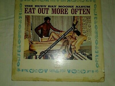"""RUDY RAY MOORE Eat Out More Often KENT LP Good Condition...Get Ready to """"Party""""."""