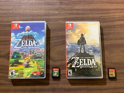 Legend of Zelda: Breath of the Wild + Link's Awakening (Nintendo Switch) LOT