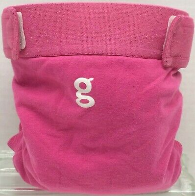 Gdiapers Large Goddess Pink Gpant & Pouch Euc