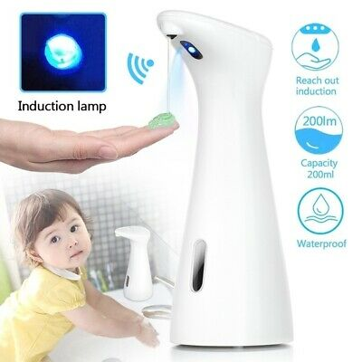 Touchless Soap Dispenser Automatic Foam Wash Bathroom Battery Operated Electric