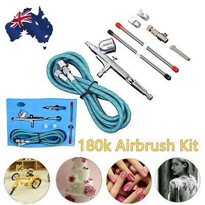 0.2/0.3/0.5mm Airbrush Compressor Spray Gun Dual Action Air Brush Tattoo I
