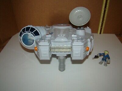STAR WARS Galactic Heroes Millennium Falcon With Han Solo Figure