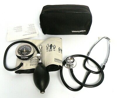 Welch Allyn Aneroid Sphygmomanometer DuraShock Silver Series/stethoscope-China