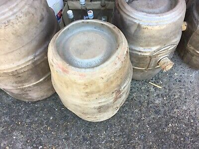 VINTAGE STAINLESS STEEL BEER KEG LARGE TOOTHS & CO 41 Cm X 63 Cm