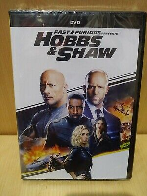 Fast And Furious Presents HOBBS & SHAW - DVD - SEALED... NEW!!! NO DIGITAL COPY