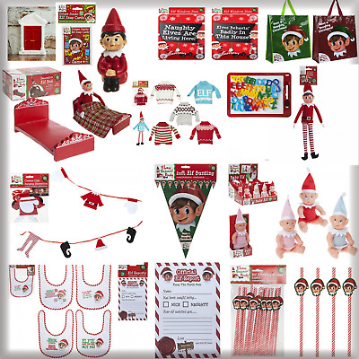 Elf Accessories Props Put On The Shelf Ideas Kit Christmas Clothes Decoration