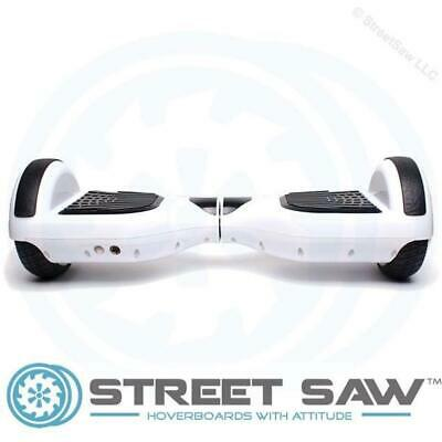 StreetSaw DailySaw 6.5 Inch Electric Scooter w/Bluetooth LED White