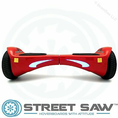"StreetSaw FutureSaw 6.5 Inch Bluetooth Electric Scooter Red ""Candy Apple Red"""