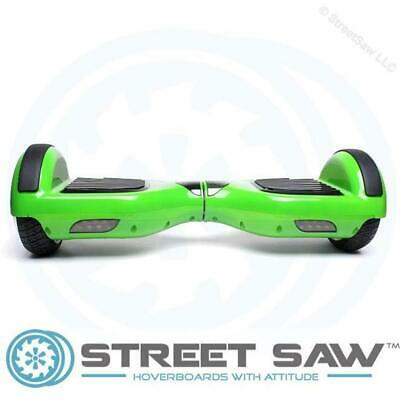 StreetSaw DailySaw 6.5 Inch Electric Scooter w/Bluetooth LED Green