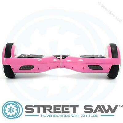 StreetSaw DailySaw 6.5 Inch Electric Scooter w/Bluetooth LED Pink