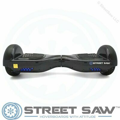 StreetSaw DailySaw 6.5 Inch Electric Scooter w/Bluetooth LED Black